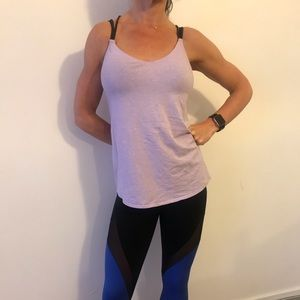 Lululemon lightweight purple tank